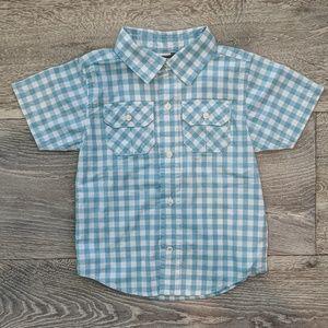 Gymboree Toddler Gingham Button Down Shirt
